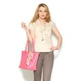 pikowana torebka Orsay w kolorze różowym - torebki na wiosnę