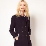 płaszcz Asos w kolorze czarnym - jesień-zima 2012/2013