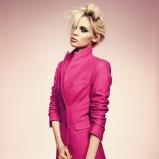 płaszcz Deni Cler w kolorze różowym - jesień-zima 2012/2013