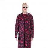 płaszcz Michael Kors w róże - trendy na jesień 2013
