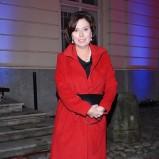 płaszcz w kolorze czerwonym - Małgorzata Kidawa-Błońska