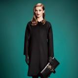 płaszczyk Gucci w kolorze czarnym - jesienne trendy 2013