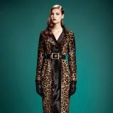 płaszczyk Gucci w panterkę - jesienne trendy 2013