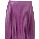 plisowana spódnica Topshop w kolorze fioletowym - spódnice 2012/13