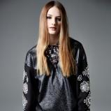 połyskliwa bluzeczka River Island w kolorze czarnym - moda 2013/14