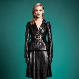 połyskliwy komplet Gucci w kolorze czarnym - trendy 2013/14