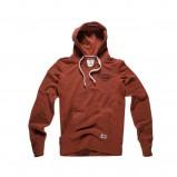 pomarańczowa bluza Big Star z kapturem - jesień/zima