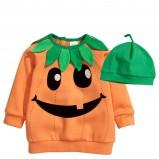 pomarańczowa bluza H&M dynia