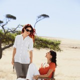 pomarańczowa bluzka Lidl - lato 213