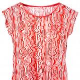pomarańczowa bluzka Pepco we wzorki