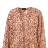 pomarańczowa bluzka Topshop we wzory - sezon wiosenno-letni