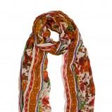 pomarańczowa chusta Stradivarius - moda jesień/zima 2010