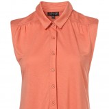pomarańczowa koszula Topshop - sezon wiosenno-letni