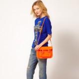 pomarańczowa listonoszka Asos - neony