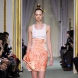 pomarańczowa spódnica Didit Hediprasetyo - wiosna/lato 2011