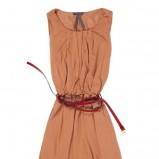 pomarańczowa sukienka Answear - kolekcja wiosenno/letnia