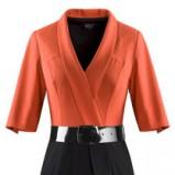 pomarańczowa sukienka Makalu - wiosna/lato 2012