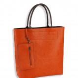 pomarańczowa torebka C&A - XXL
