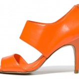 pomarańczowe sandałki C&A - neony