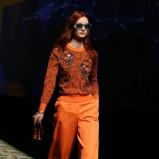 pomarańczowe spodnie Kenzo - wiosna/lato 2013