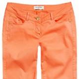 pomarańczowe spodnie Reserved - wiosna-lato 2013