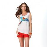 pomarańczowe szorty Promod - lato 2012