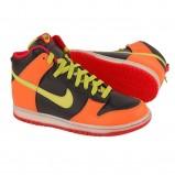pomarańczowe trampki Nike - sezon jesienno-zimowy