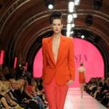 pomarańczowy garnitur La Mania - sezon wiosenno-letni