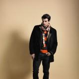 pomarańczowy longslive Cottonfield w pasy - moda 2011/2012