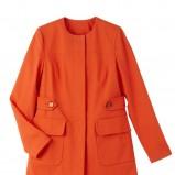 pomarańczowy płaszcz Camaieu - wiosna/lato 2012