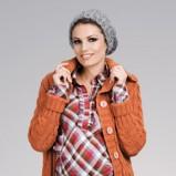 pomarańczowy sweter - 2012