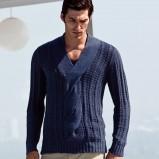 pomarańczowy sweter H&M - wiosna-lato 2012