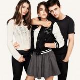 popielata spódnica H&M - jesień 2011