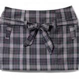 popielata spódnica Mohito w kratkę - jesień/zima 2010/2011
