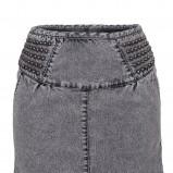 popielata spódnica Troll dżinsowa - wiosenna kolekcja