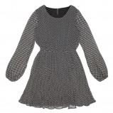 popielata sukienka Carry w jodełkę - jesień/zima 2011/2012