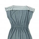 popielata sukienka Echo - moda wiosna/lato