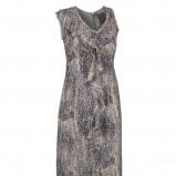 popielata sukienka InWear we wzory - moda 2011/2012
