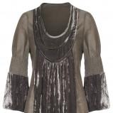 popielata sukienka Kappahl - z kolekcji jesień-zima