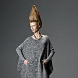 popielata sukienka Solar - lookbook na jesień 2013
