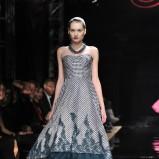 popielata sukienka Teresa Rosati