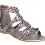 popielate sandały CCC - wiosna/lato 2011