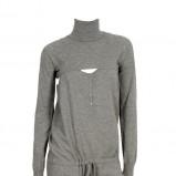 popielaty kombinezon Stefanel - moda na jesień 2013