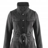 popielaty płaszczyk H&M - jesień/zima 2011/2012