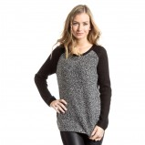 popielaty sweter C&A - moda na jesień 2013