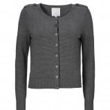 popielaty sweter InWear zapinany - jesień-zima 2012/2013