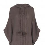 popielaty sweter Marks & Spencer - jesień-zima 2010/2011