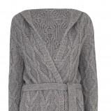 popielaty sweter Marks & Spencer rozpinany - jesień-zima 2010/2011