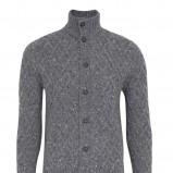 popielaty sweter Marks & Spencer rozpinany - z kolekcji jesień-zima
