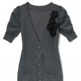 popielaty sweter Mohito - moda jesień/zima